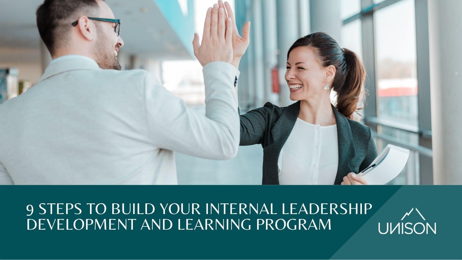 Internal leadership development